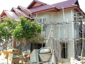 Thailand - buy a land plot and build a house