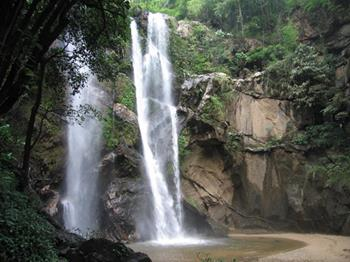 Doi Suthep waterfall